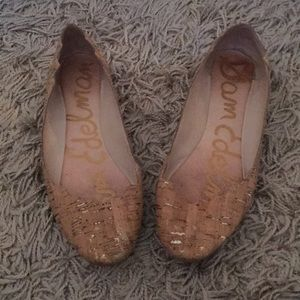 Sam Edelman natural cork flats